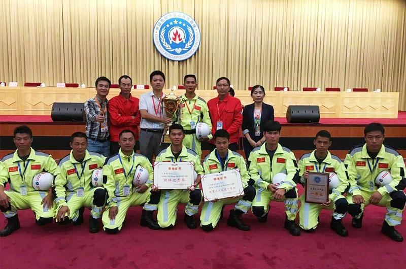 工装置初期火灾处置集体项目一等奖